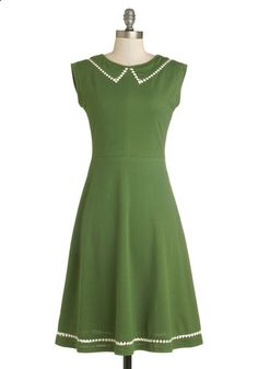 Author Outings Dress in Green from ModCloth