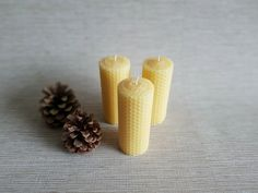 Beeswax sourced from local honey farms in UK Tin Candles, Beeswax Candles, Local Honey, Hand Roll, Candle Making, My Ebay, Organic, Pure Products, Handmade