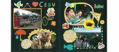 お友達との旅行もより楽しい思い出に♪絵本の世界のようなアルバムが完成! Bohol, Baseball Cards, Design