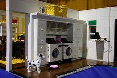 Custom Lego Laundry Room