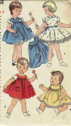 Vintage Toddler Dresses
