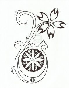 Moon Goddess Tribal Tattoo Design by chrismetalfreak on deviantART