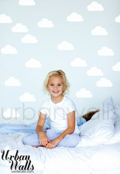 Vinyl Wall Sticker Decal Art  Clouds by urbanwalls on Etsy, $32.00