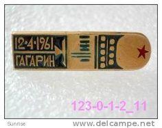 SPACE: spacecraft Vostok U. Gagarin first astronaut in the World / old soviet badge USSR_123_sp3721 - Delcampe.com