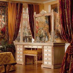 Стиль классицизм в интерьере: фото и основные черты Curtains, Interior Design, Mirror, Classic, Furniture Ideas, Interiors, Home Decor, Style, Nest Design