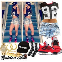 """Loser 92"" by fashionsetstyler on Polyvore"