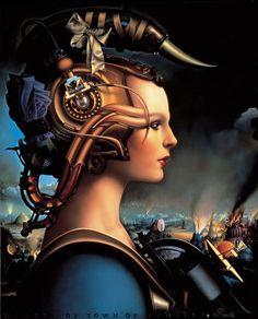 7 | The Artwork Of Legendary Sci-Fi Magazine Omni | Co.Design | business + design
