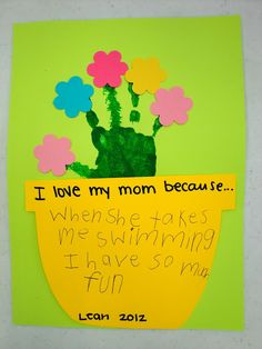 15 Kids Mother's Day Crafts - Second Chance To Dream