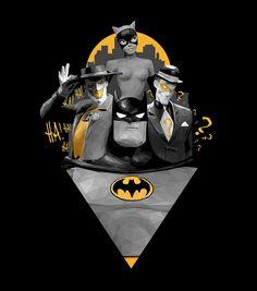 Batman by Simon Delart