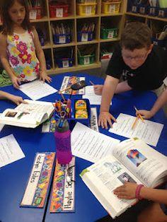 First Grade Center ideas, how they work, organization