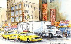 New York 8th avenue by renefijten, via Flickr