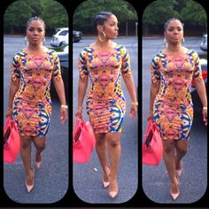 Body con dress and cornrows Dope Swag Outfits, Chic Outfits, Fashion Outfits, Diva Fashion, Cute Fashion, Fashion Killa, Style Fashion, Fashion Trends, Love Her Style