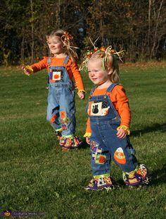 Cute Scarecrows - Halloween Costume Contest