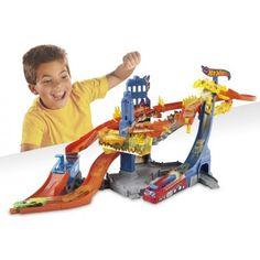 Zabawki hot wheels to zabawki już dla trochę starsych dzieci, które nie rozkręzcają złożonych torów ;) Która to zna, niech podniesie rękę