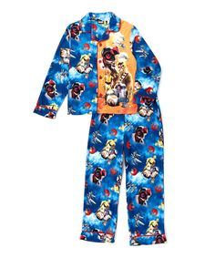 Look what I found on #zulily! The Force Awakens Droids Pajama Set - Boys by Star Wars #zulilyfinds