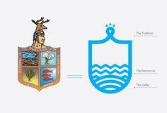 Rebranding H. Ayuntamiento de Cajeme on Behance Destination Branding, City Branding, Logo Branding, Branding Design, Logo Desing, Soccer Logo, Crest Logo, W Logos, Medical Logo