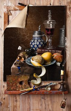 Still Life after Cornelius Gijsbrechts
