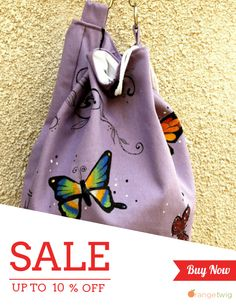 Unique Bags, Drawstring Backpack, Campaign, Shops, Hand Painted, Backpacks, Shopping, Products, Fashion