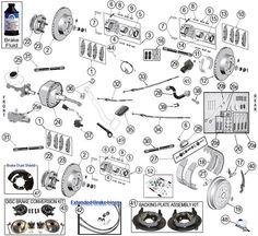 brakes - suspension - jeep-grand cherokee zj - universal