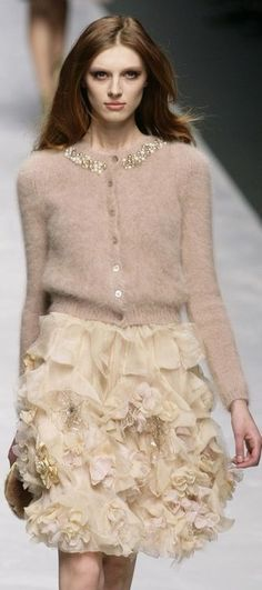 Blumarine | Skirting the Issue | Pinterest)