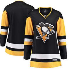 Women's Pittsburgh Penguins Fanatics Branded Black Breakaway Home Jersey