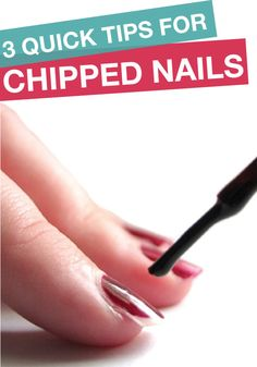 Quick tips to fixed chipped nails!