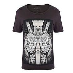 Black tattoo girls print t-shirt - print t-shirts - t-shirts / vests - men