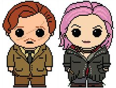 Harry Potter: Lupin and Tonks 2 Pack PDF Chart Pattern