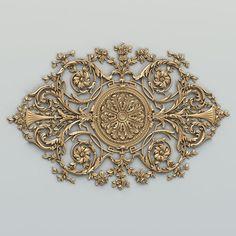 models for CNC carver Carving Designs, Stencil Designs, Door Gate Design, 3d Printed Jewelry, Ceiling Medallions, Laser Cut Metal, Ceiling Design, My New Room, Wood Art