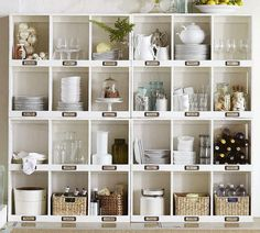 Favorite Organized Storage Cubbies | Friday Favorites on www.andersonandgrant.com  wooden wall shelf w/ 6 cubbies for $40 at Target 9/14