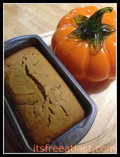 Pumpkin Spice Bread Recipe #Thanksgivingtips