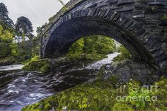 Water Under The Bridge by Ian Mitchell Water Under The Bridge, Snowdonia National Park, Nature Photography, National Parks, America, Artists, Fine Art, Wall Art, Nature Pictures