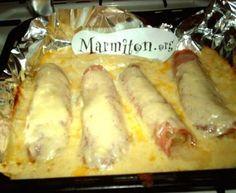 Endives au jambon : Recette de Endives au jambon - Marmiton