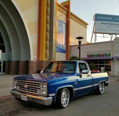 1987 Chevy Silverado, Chevy Pickup Trucks, Gm Trucks, Chevy Pickups, Cool Trucks, Custom Chevy Trucks, Fast Cars, Badass, Chevrolet