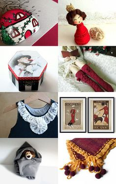 Your house for Christmas by Mammabook on Etsy--Pinned with TreasuryPin.com