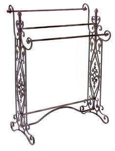 Quilt Hangers and Stands 83959: Colonial Scroll Black Wrought Iron ... : wrought iron quilt hangers - Adamdwight.com