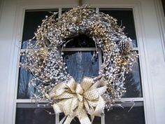 winter wreath ~ beautiful!