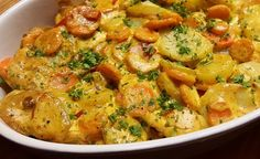 Hier finde Sie ein veganes Rezept für die Zubereitung von Kartoffel-Karotten-Auflauf. Dieser vegane Auflauf ist schnell zubereitet und gelingt immer.