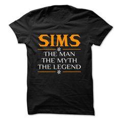 The Legen SIMS... - 0399 Cool Name Shirt ! - #family shirt #disney sweatshirt. OBTAIN => https://www.sunfrog.com/LifeStyle/The-Legen-SIMS--0399-Cool-Name-Shirt-.html?68278
