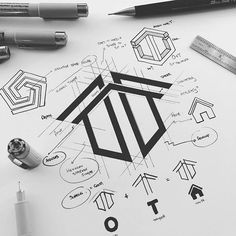 At Owen Taylor's, they employ some of the most talented builders in London and their engineers, supported by… Typography Logo, Logo Branding, Logo Inspiration, Graphisches Design, Neue Tattoos, Grafik Design, Business Logo, Logo Templates, London