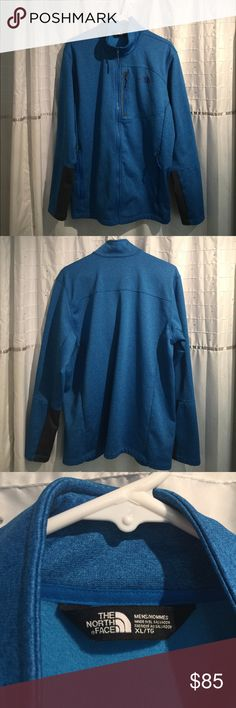 MEN'S FUSEFORM™ PROGRESSOR FLEECE FULL ZIP Brand new, without tags! Great piece fleece lined and perfect for layering or by itself. Beautiful blue with grey panel on arms. Put in an offer please! The North Face Jackets & Coats Performance Jackets