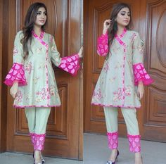 Girls Dresses Sewing, Stylish Dresses For Girls, Stylish Dress Designs, Simple Dresses, Beautiful Pakistani Dresses, Pakistani Dresses Casual, Pakistani Dress Design, Pakistani Bridal, Pakistani Fashion Party Wear