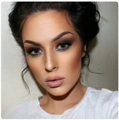 Beautiful Makeup & possible micro-bladed eyebrows