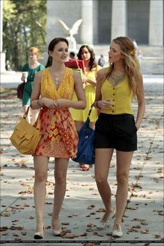 Summer Outfits In Yellow Gossip Girl Season 405