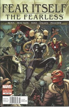 Marvel Fear Itself The Fearless comic issue 6