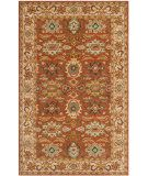 RugStudio presents Safavieh Heritage Hg734d Rust / Beige Hand-Tufted, Better Quality Area Rug
