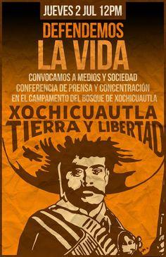 Xochicuautla convoca a conferencia de prensa y concentración a las 12:00pm este jueves en el campamento de su bosque