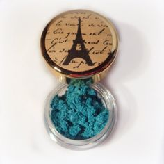 Vegan Mineral Makeup Eye Shadow Handmade  Blue by paintedlips, $8.00