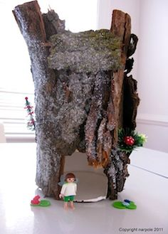 How To Make Fairy Houses | Oatmeal Box Fairy House - Things to Make and Do, Crafts and Activities ...
