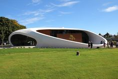 Maggie's Centre, designed by Snøhetta, opened in Aberdeen, Scotland, on September 23.